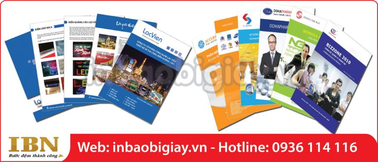 in catalogue tại tphcm