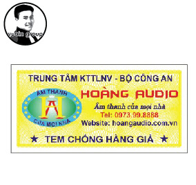 In tem chống giả